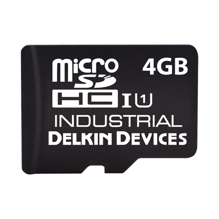 4GB U331 microSD (SLC) SD 3.0/Class 10/UHS-I/SMART