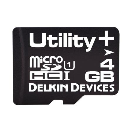 4GB Utility+ microSD (MLC) with SMART SDアダプタなし