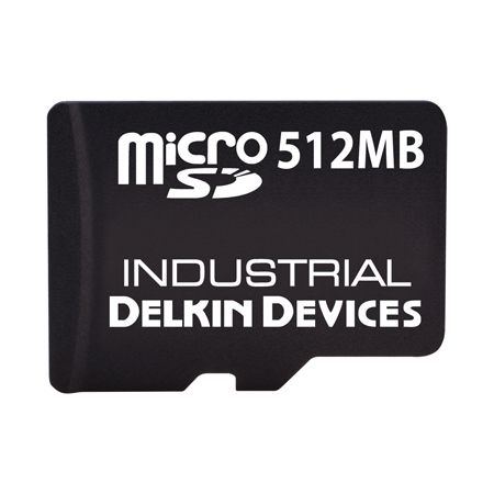 512MB U330 microSD (SLC) with SMART