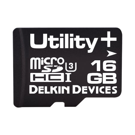 16GB Utility+ microSD (MLC) with SMART SDアダプタなし