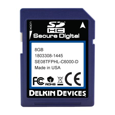 8GB SD Industrial Ext Temp RoHS