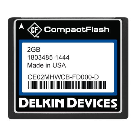 2GB CF SLC, Industrial Temp, Fixed Drive, DMA-ON
