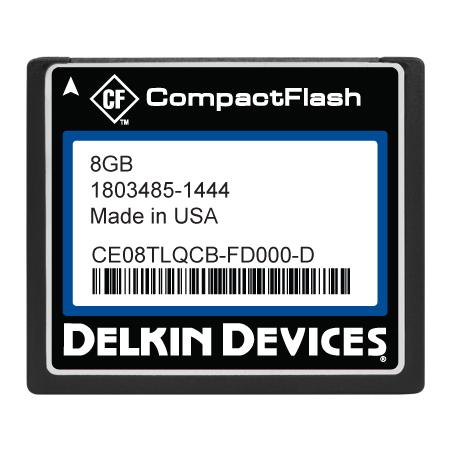 8GB CF SLC, Industrial Temp, Removable, DMA-ON