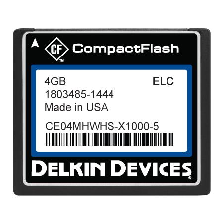 4GB CF SLC, Industrial Temp, Removable, DMA&UDMA-OFF