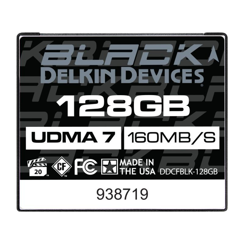 128GB BLACK CFカード UDMA7 [DDCFBLK128GB]
