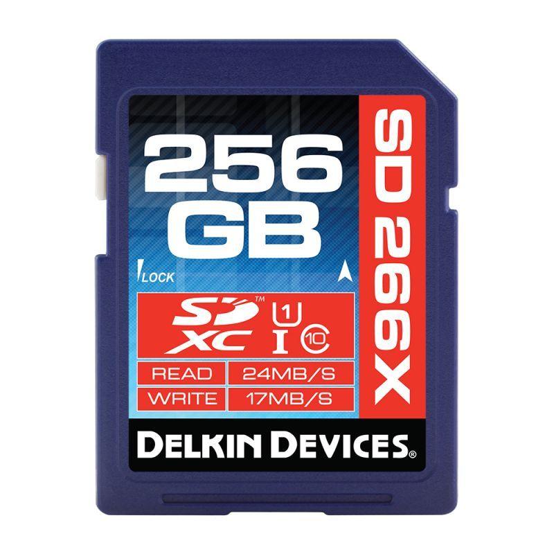 256GB SDXC 266X Class 10/UHS-I (U1)