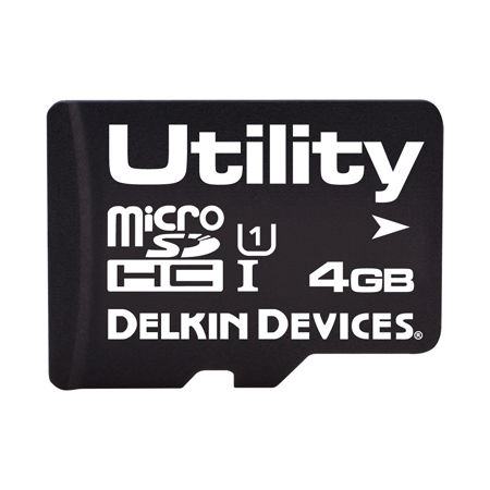 4GB Utility microSD (MLC) with SMART SDアダプタなし