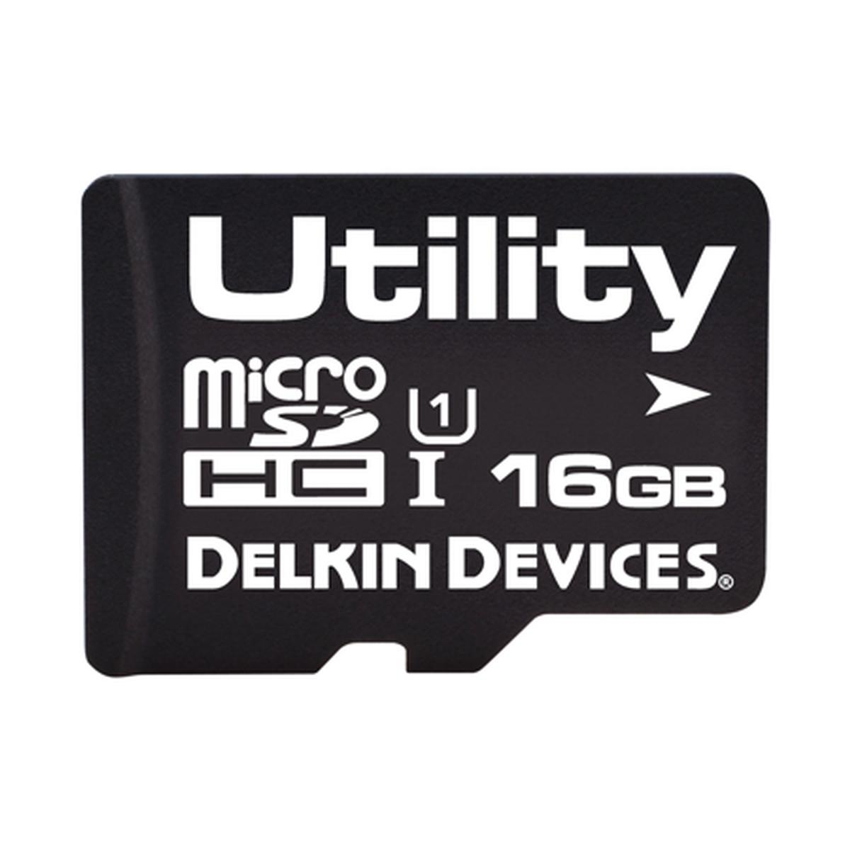 16GB Utility microSD (MLC) with SMART SDアダプタなし