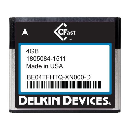 4GB CFast F270 Series SLC SATA II Ind Temp -40~+ 85°C
