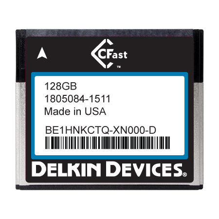 128GB CFast F270 Series MLC SATA II Ind Temp -40~+ 85°C