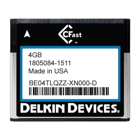 4GB CFast F200 Series SLC SATA II Ind Temp -40~+ 85°C