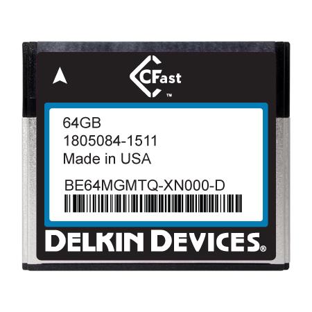 64GB CFast F270 Series SLC SATA II Ind Temp -40~+ 85°C