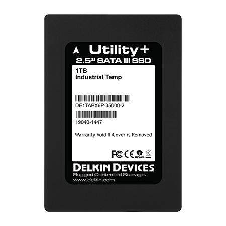 1TB SSD Utility+ MLC SATA III 2.5″ Ind Temp -40~+ 85°C