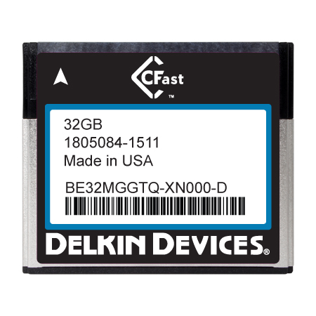 32GB CFast F270 Series SLC SATA II Ind Temp -40~+ 85°C