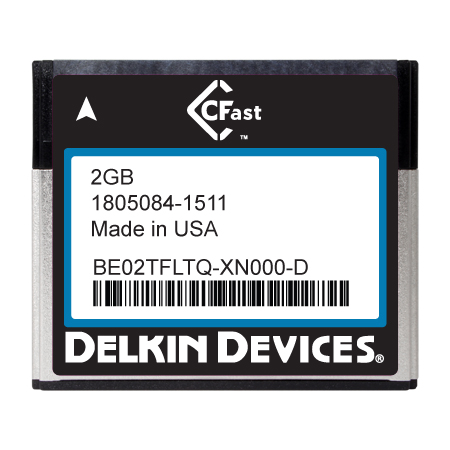 2GB CFast F270 Series SLC SATA II Ind Temp -40~+ 85°C