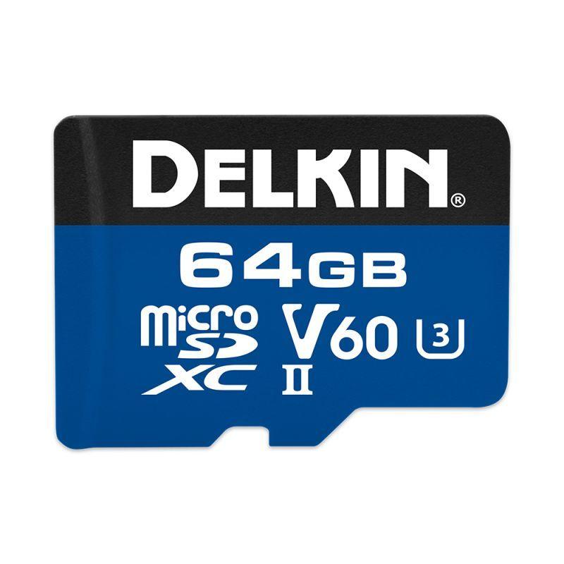 64GB microSDXC 1900X UHS-I / UHS-II (U3/V60)
