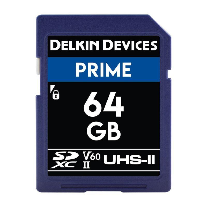 64GB Prime 1900X SDXC UHS-I/UHS-II (U3/V60) SDカード