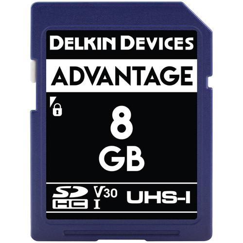 8GB SDHC 633X UHS-I (U3/V30) SDカード
