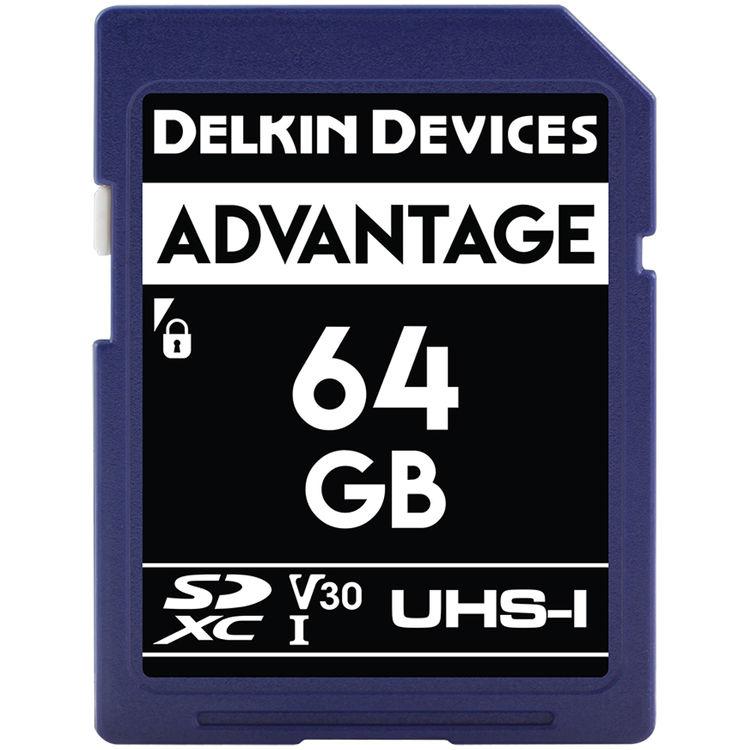 64GB SDXC 633X UHS-I (U3/V30) SDカード