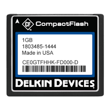 1GB CF (SLC) Industrial Ext Temp DMA-ON Removable RoHS Tekta coating