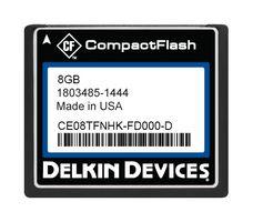 8GB CF (SLC) Industrial Ext Temp DMA-ON Fixed Drive