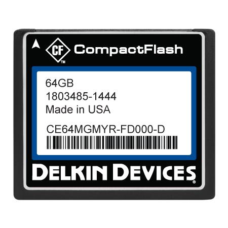64GB High Performance CF (SLC) Industrial DMA-ON Fixed Drive