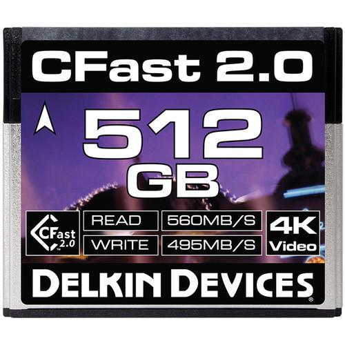512GB CFast 2.0 シネマメモリーカード [DDCFST560256]