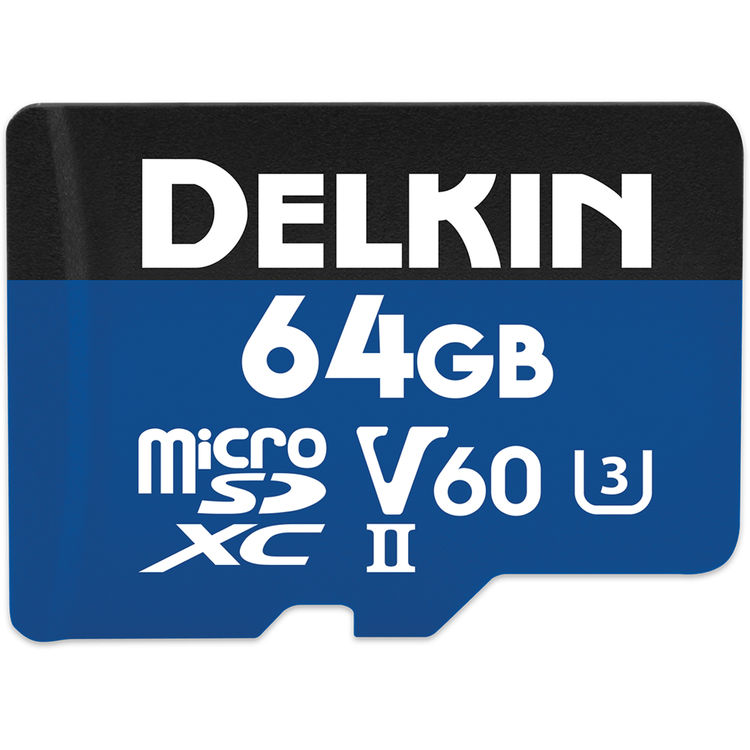 64GB Prime 1900X microSDXC UHS-I / UHS-II (U3/V60)