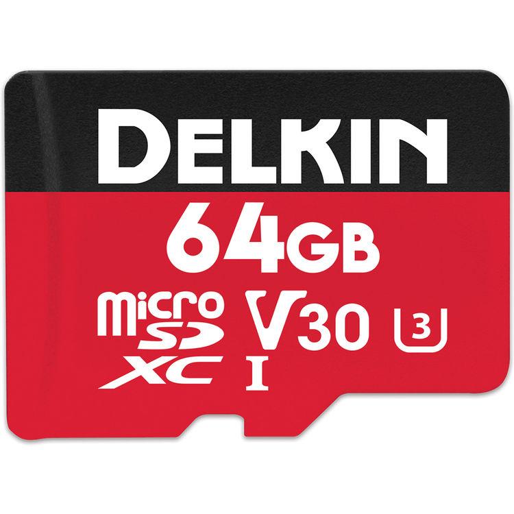 64GB Select microSDXC UHS-I (U3/V30)