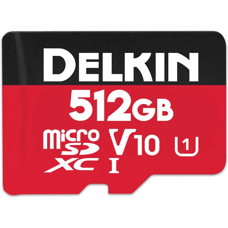 512GB Select microSDHC UHS-I (U1/V10)