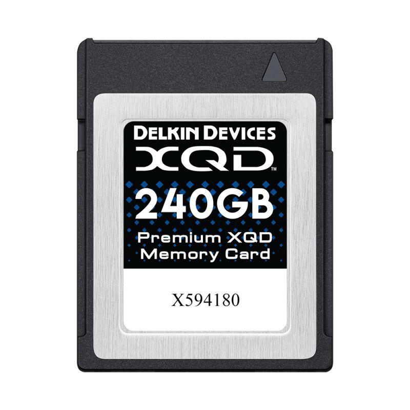 240GB Premium XQD メモリーカード