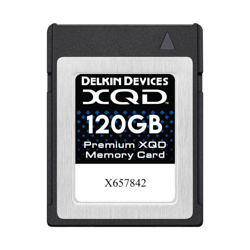 120GB Premium XQD メモリーカード