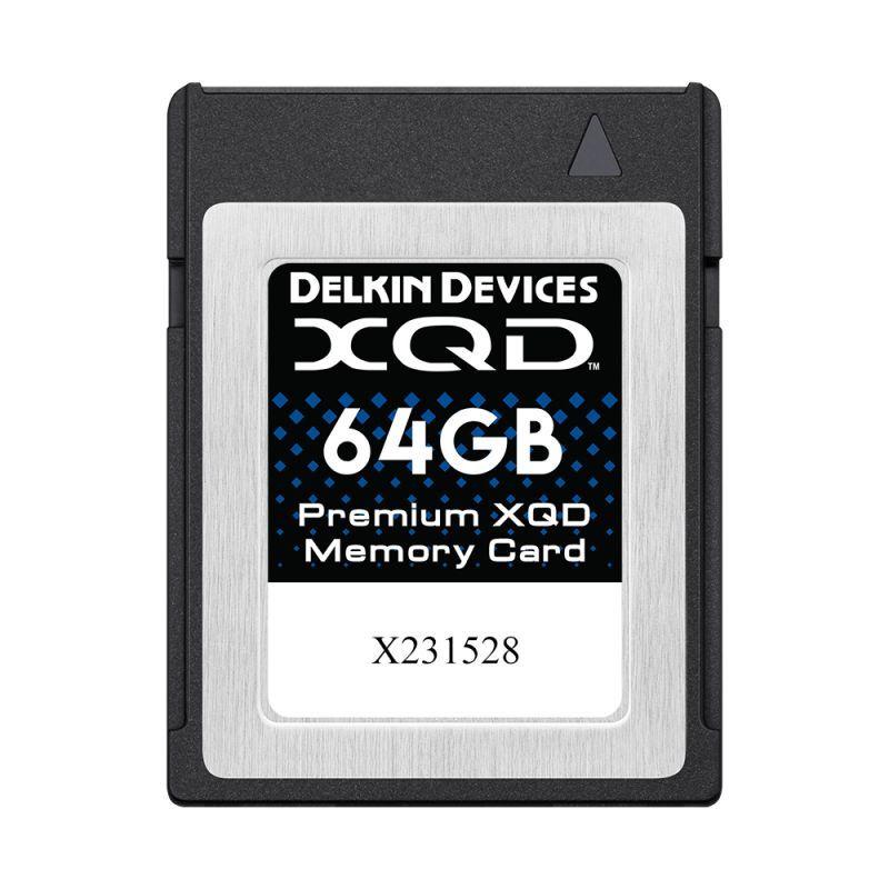 64GB Premium XQD メモリーカード