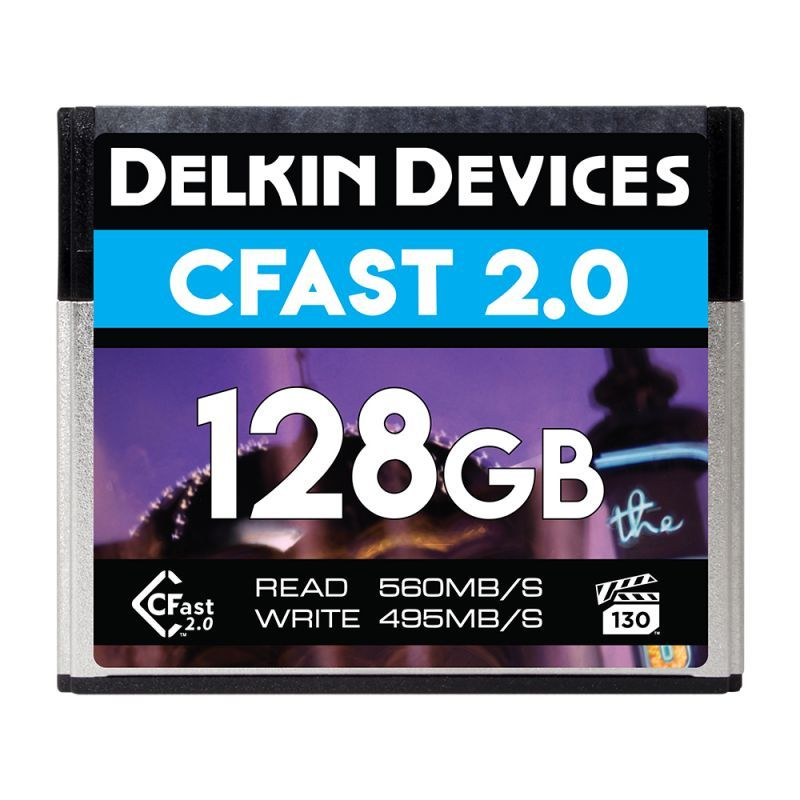 128GB CFast 2.0 シネマメモリーカード VPG-130対応 [DCFSTV128]