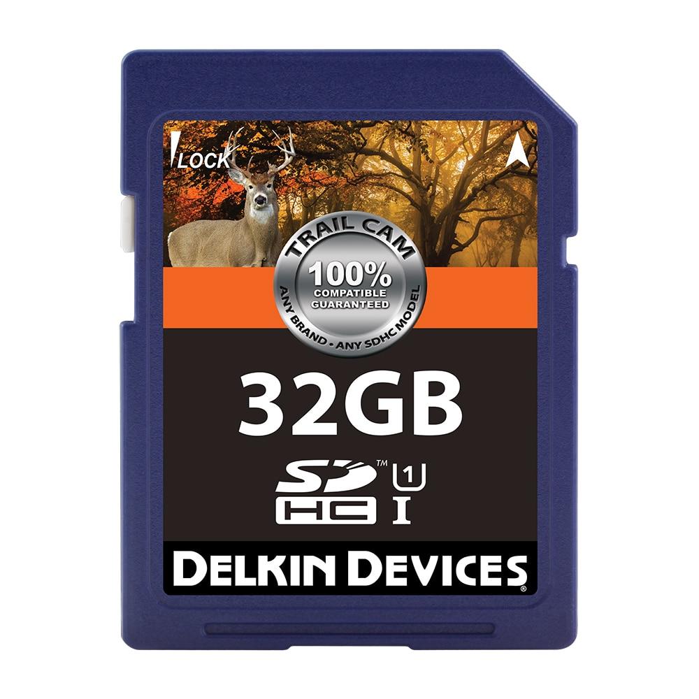 トレイルカム 32GB Class10/UHS-I (U1) SDカード