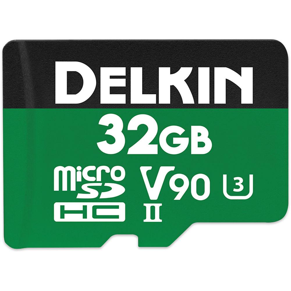 32GB Power 2000X microSDXC UHS-I / UHS-II (U3/V90)