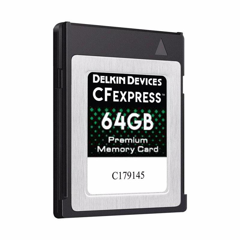 64GB CFexpress™ Type B メモリーカード DCFX1-64