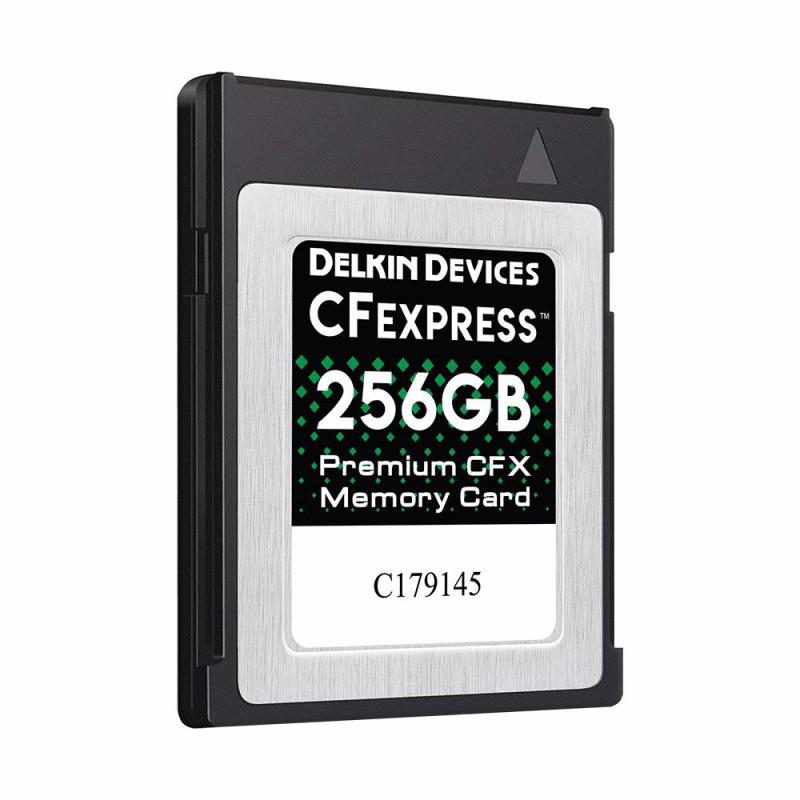 256GB CFexpress™ Type B メモリーカード DCFX1-256