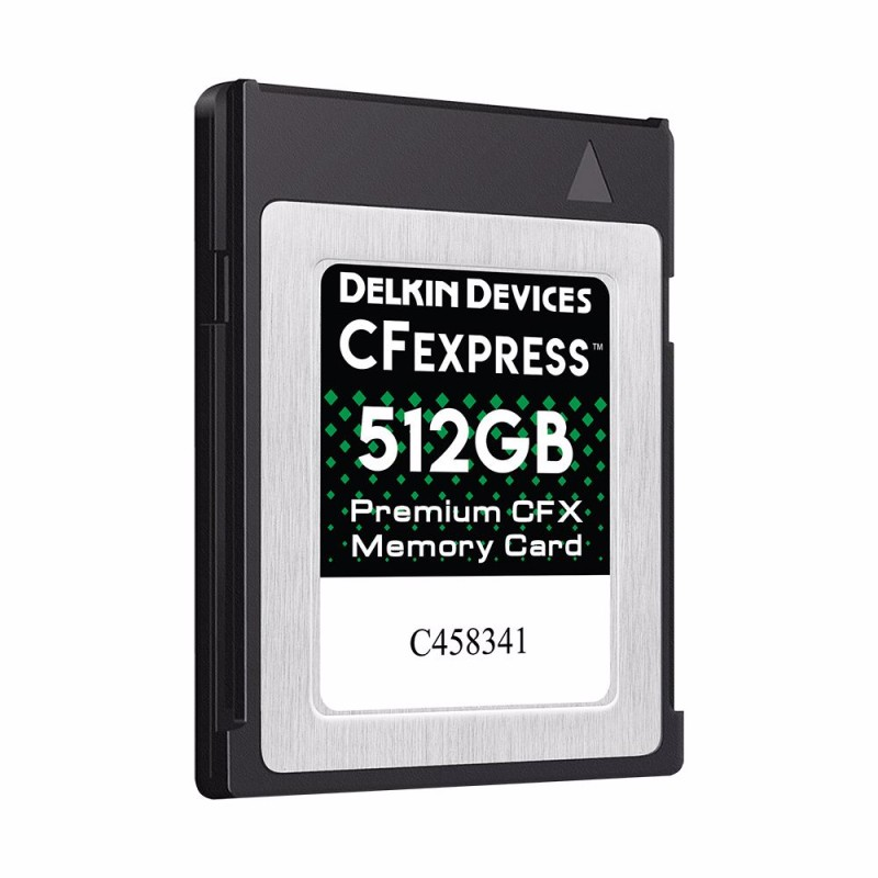 512GB CFexpress™ Type B メモリーカード DCFX1-512