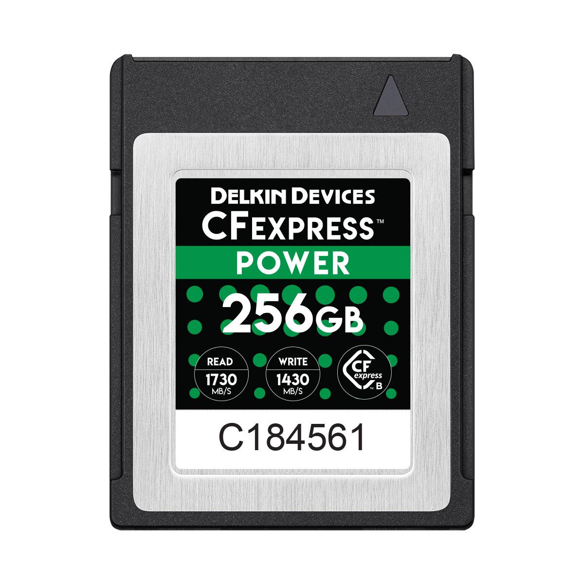 256GB CFexpress POWER メモリーカード