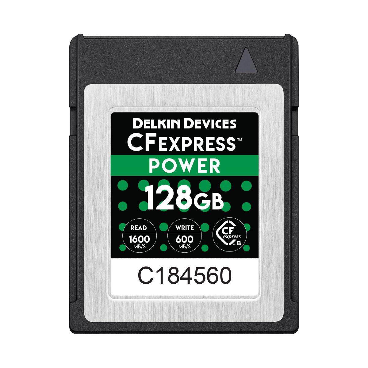 128GB CFexpress POWER メモリーカード