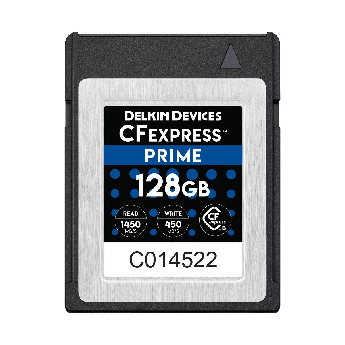 128GB CFexpress PRIME メモリーカード