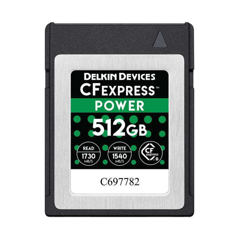 512GB CFexpress POWER メモリーカード