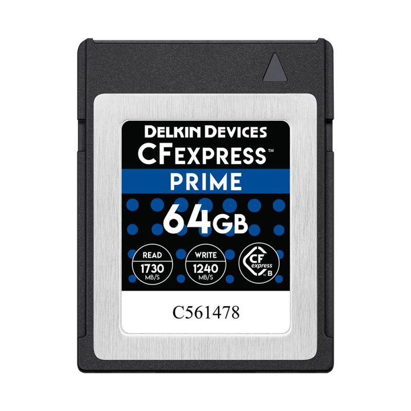 64GB CFexpress PRIME メモリーカード