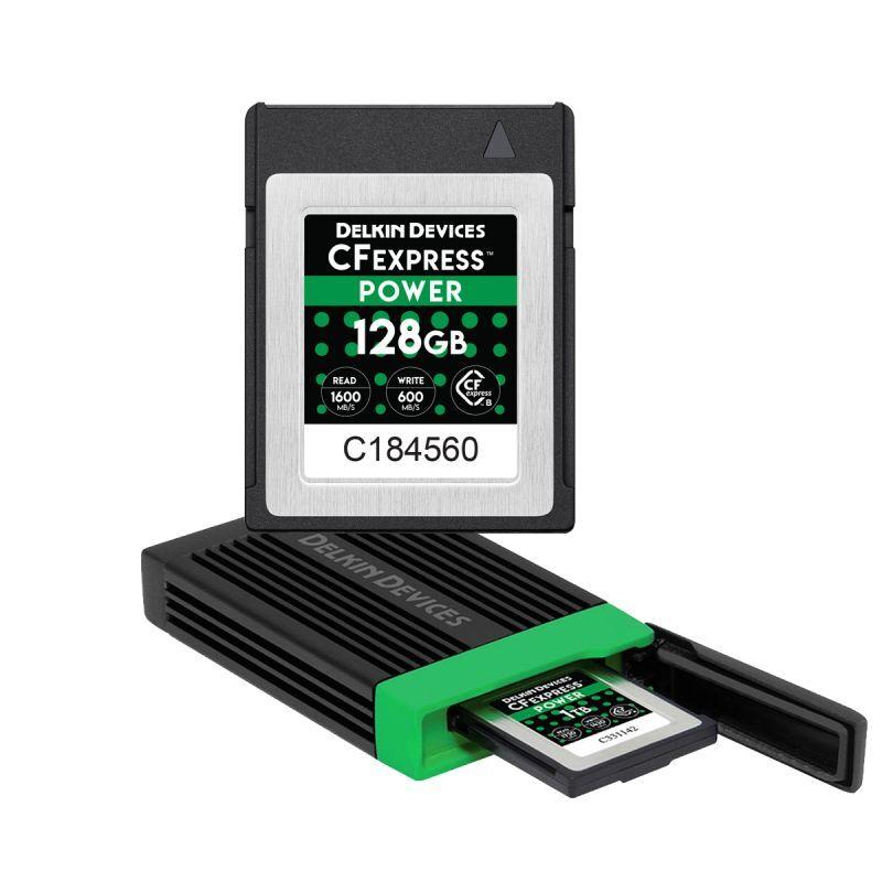 CFexpress POWER 126GB DDREADER54 バンドルセット