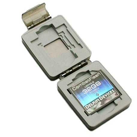 防水メディアケース コンパクトフラッシュ/SDカード用 1枚収納[DDACC-COMBAT]