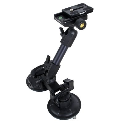 FatGecko 吸盤式カメラマウント + クイックリリースキット お買い得セット [DDFG-SCTN-QKRLS]