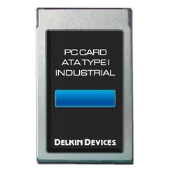 128MB ATA PC Card SLC Industrial Ext Temp Removable DMA-ON