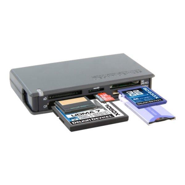 画像1: USB3.0 UDMA CF SDXC対応高速マルチカードリーダ  [READER42] (1)