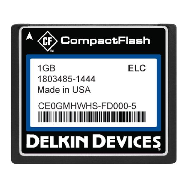 画像1: 1GB CF SLC, Industrial Temp, Fixed Drive, DMA&UDMA-ON (1)